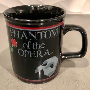 Phantom of the Opera Vintage 1988 Coffee Tea Mug